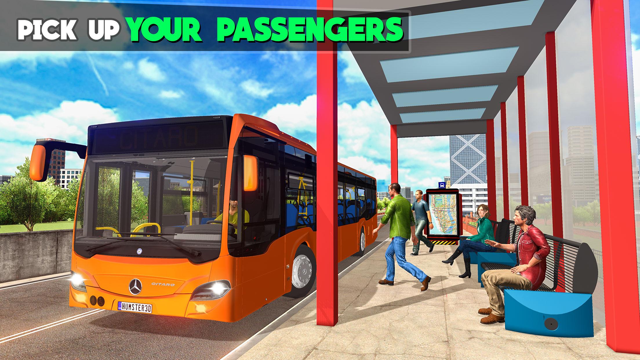 Coach Bus Simulator 3D - New City Bus Game 2020