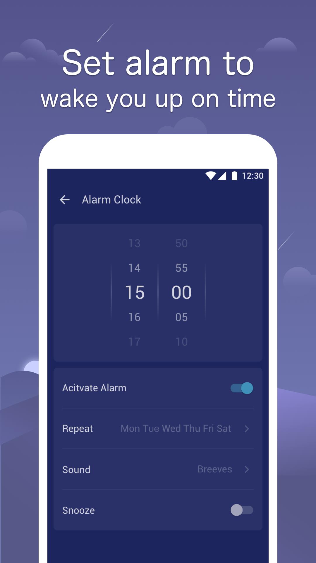 Sleep Monitor: Sleep Cycle Track, Analysis, Music