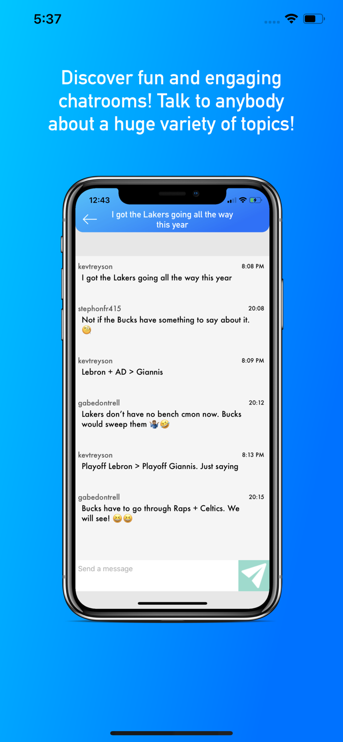 Daily Talks - Create Fun Chatrooms