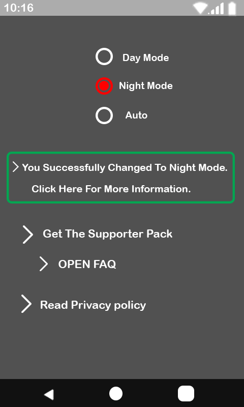 Dark Mode: Night Mode Screen Theme