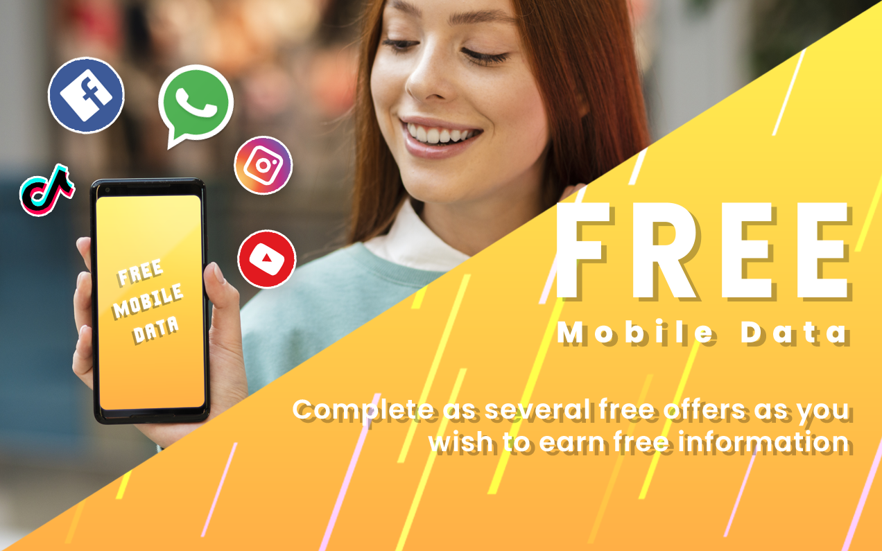 Free data get 25GB daily 3G, 4G For Prank