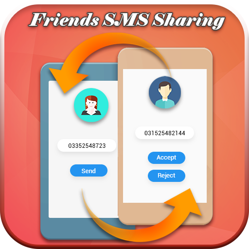 Friends SMS Sharing