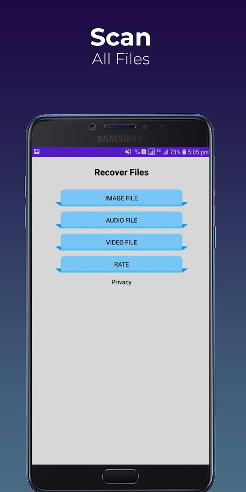 Recover Audio, Images & Videos Recovery Pro
