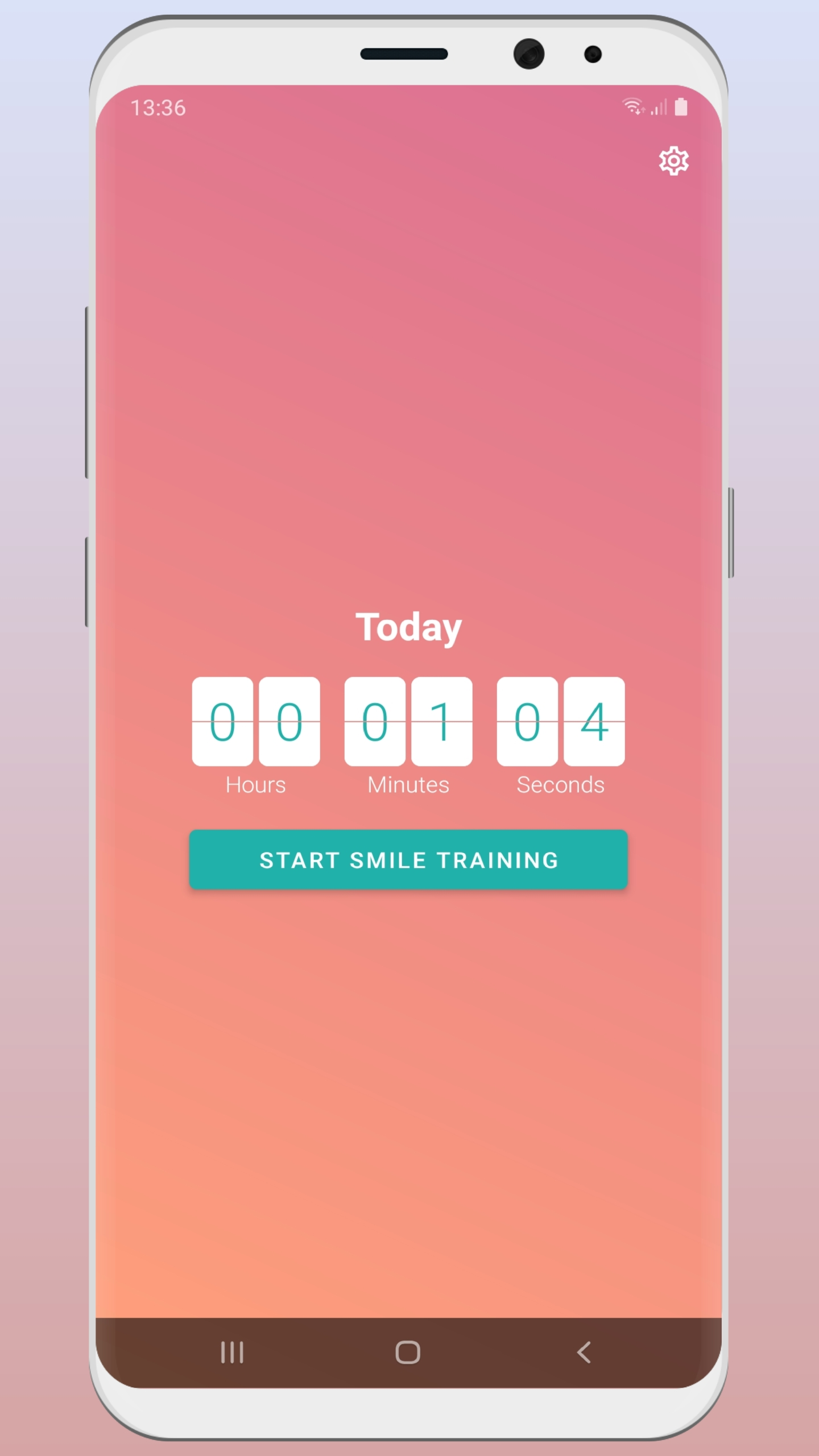 Smile camera - train your smile everyday