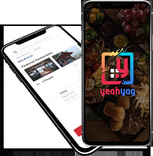 YeahYag : Restaurant Booking App