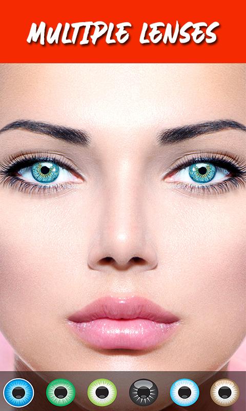 Eye Lens Photo editor