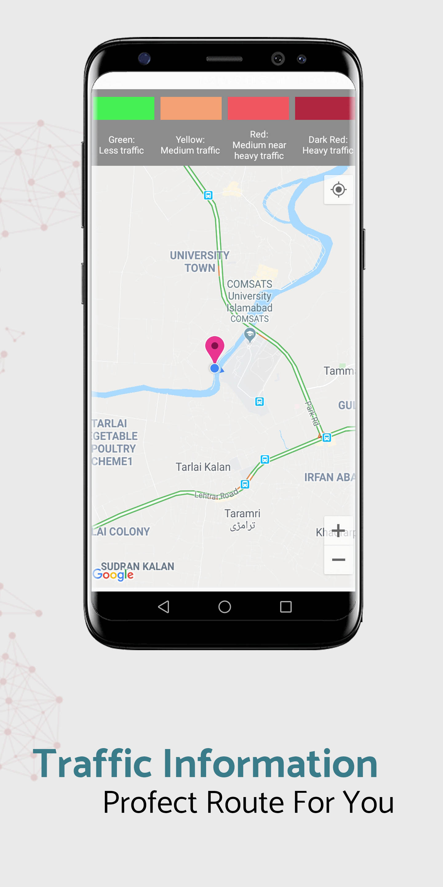 GPS Voice Navigation Finder Route