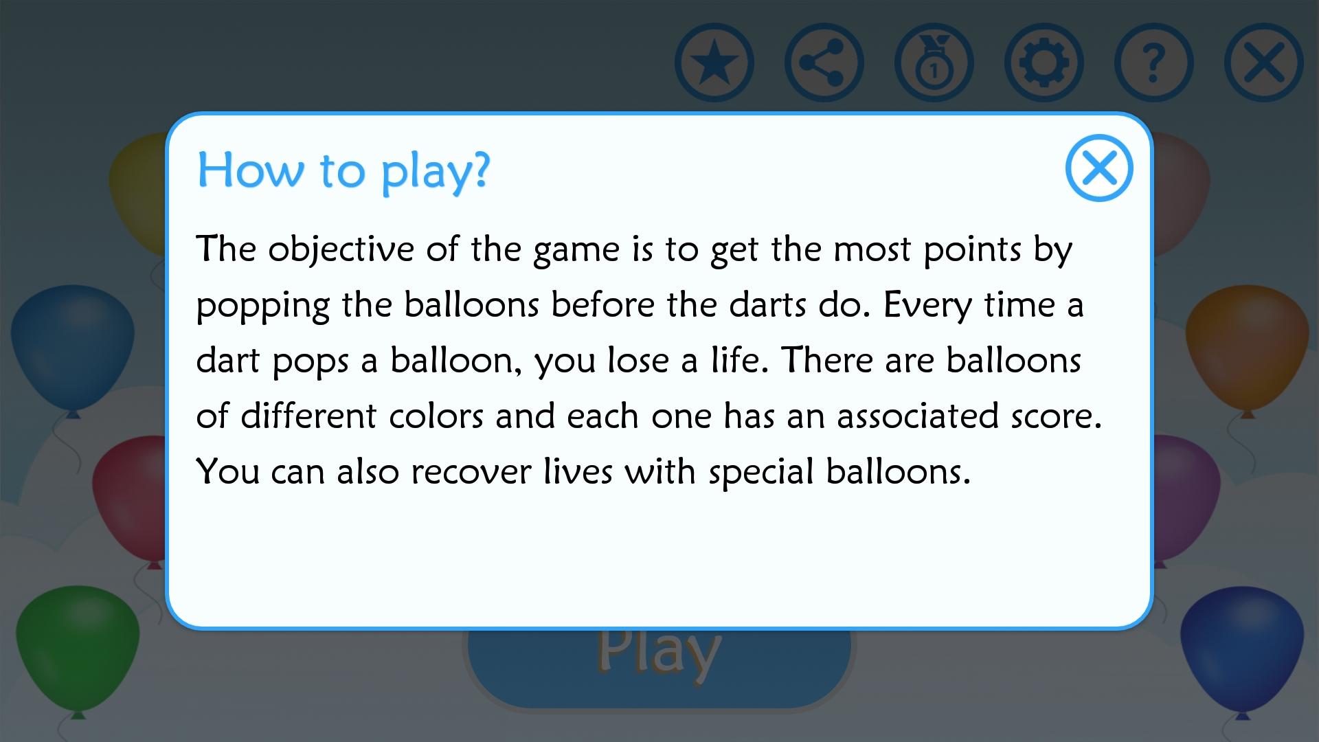 Pop the Balloons