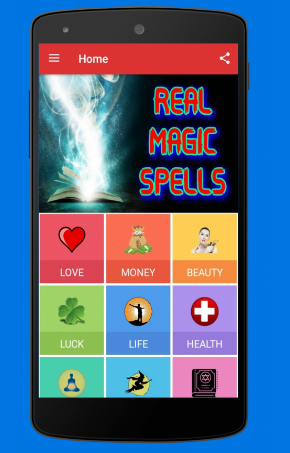 Real and Authentic Magical Spells.