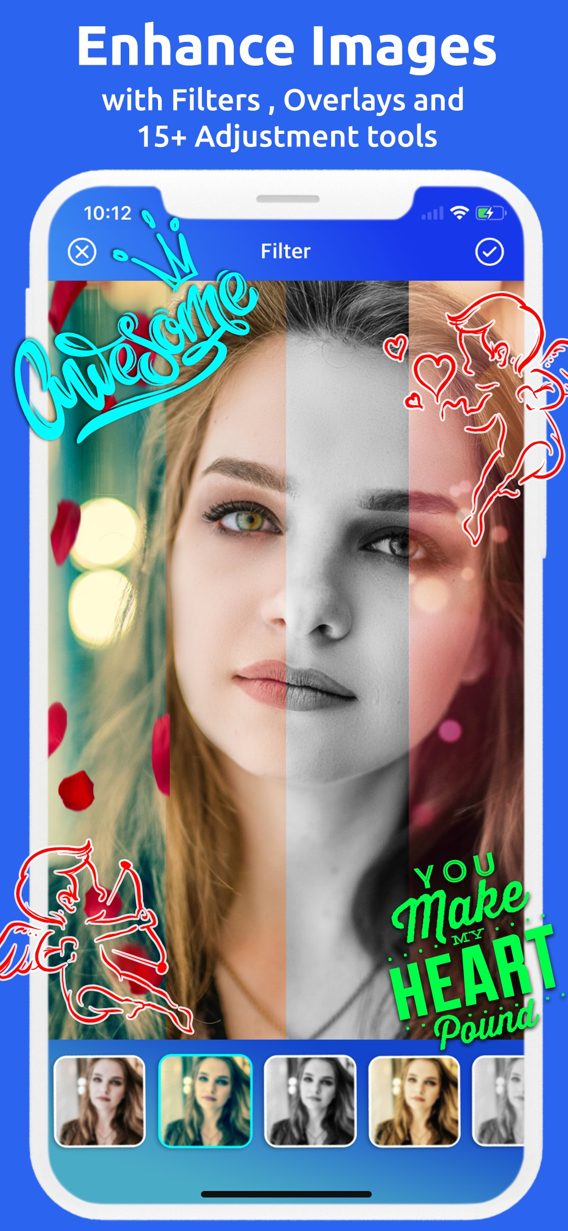 Camorify - Text and Art on photo