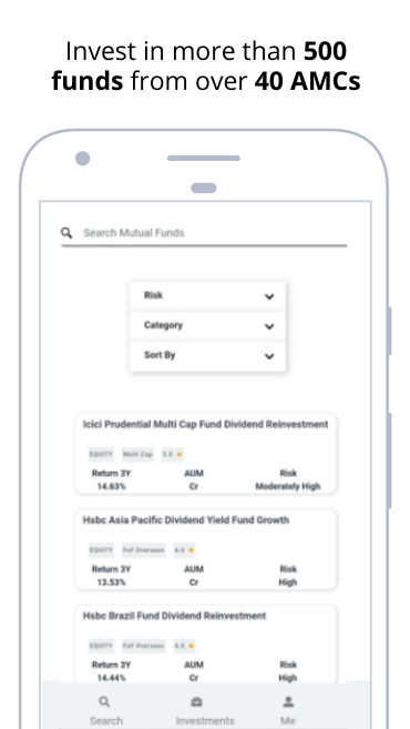 Mutual Fund Investment App | SIP - WealthBucket