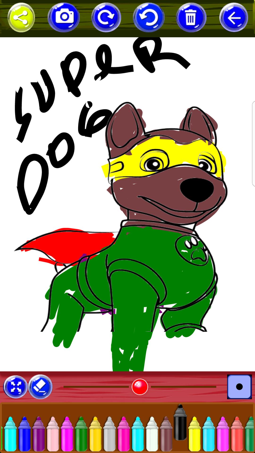 Coloring Kids Pups Patrol
