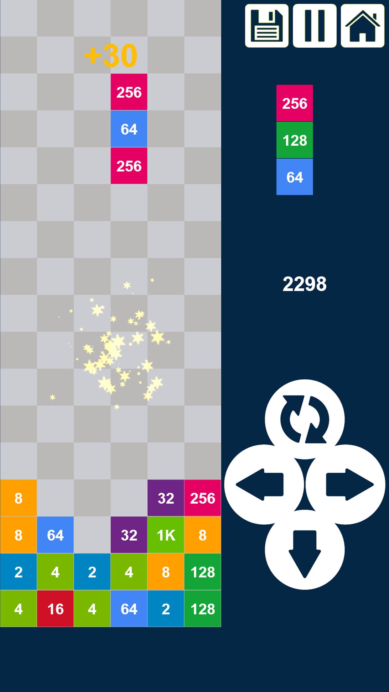 Columns 2048: Drop n Merge Numbers