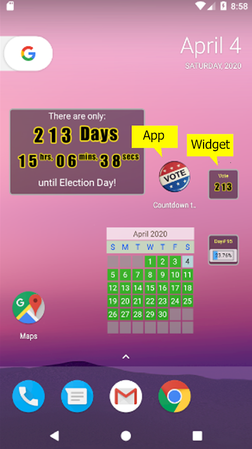 Countdown to Election Day
