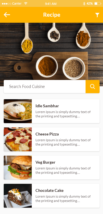 Eatance Restaurant & Food Delivery App