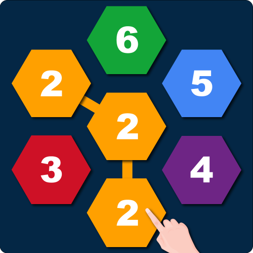 Hexagons: Connect and Merge Numbers