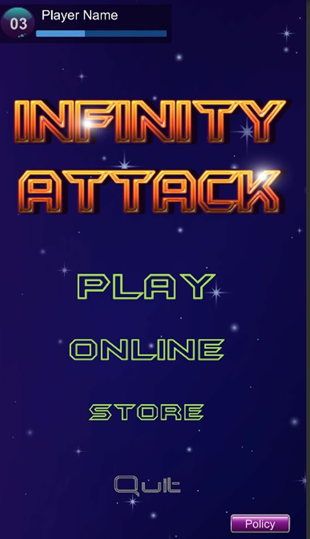 Infinity Space Attack The Planet