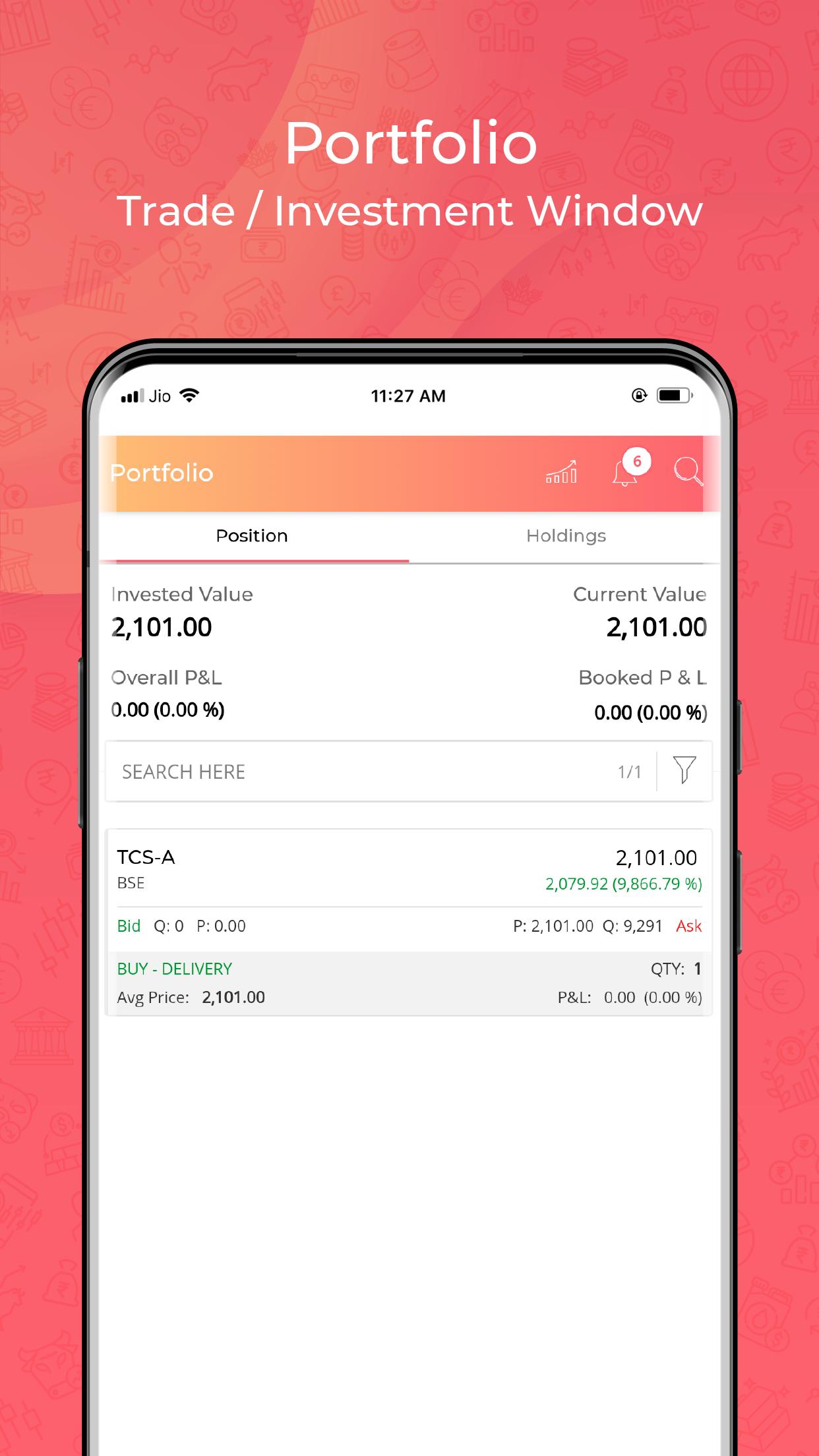 Jiffy Trading  App