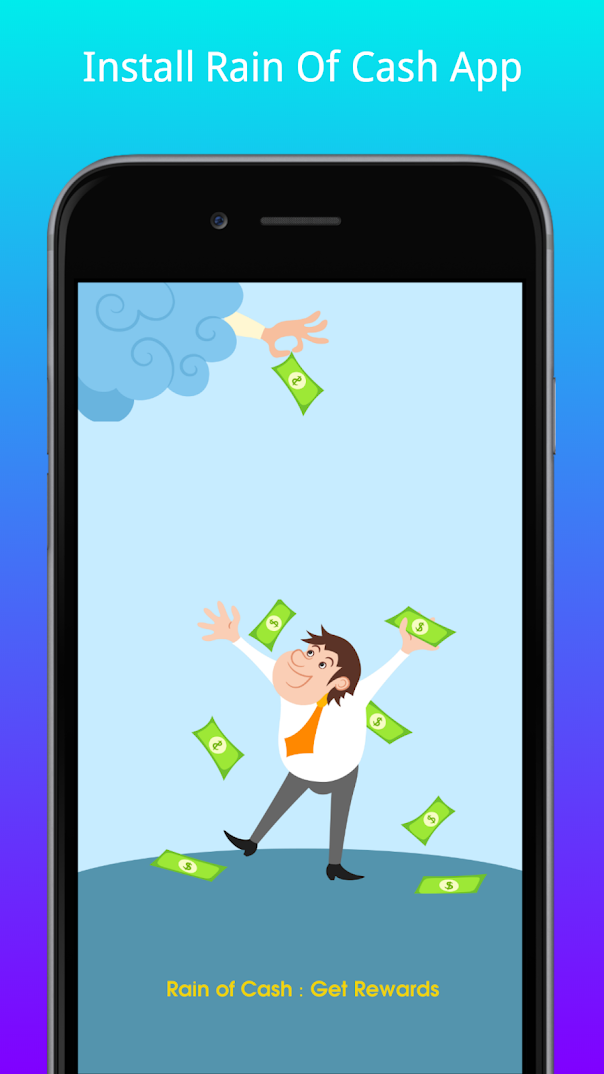 Rain of Cash : Get Rewards