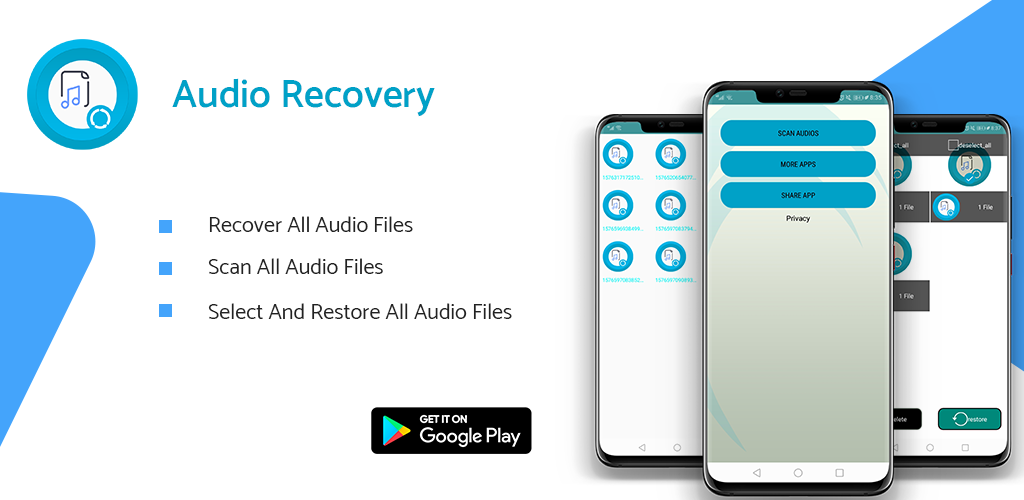 Recover deleted audio recordings 2020