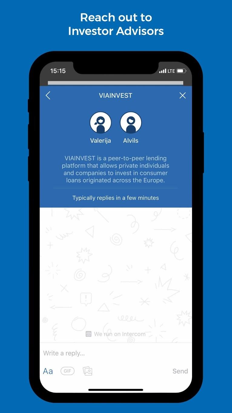 Viainvest App
