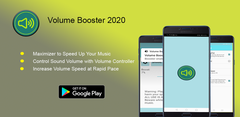 Volume booster 2020