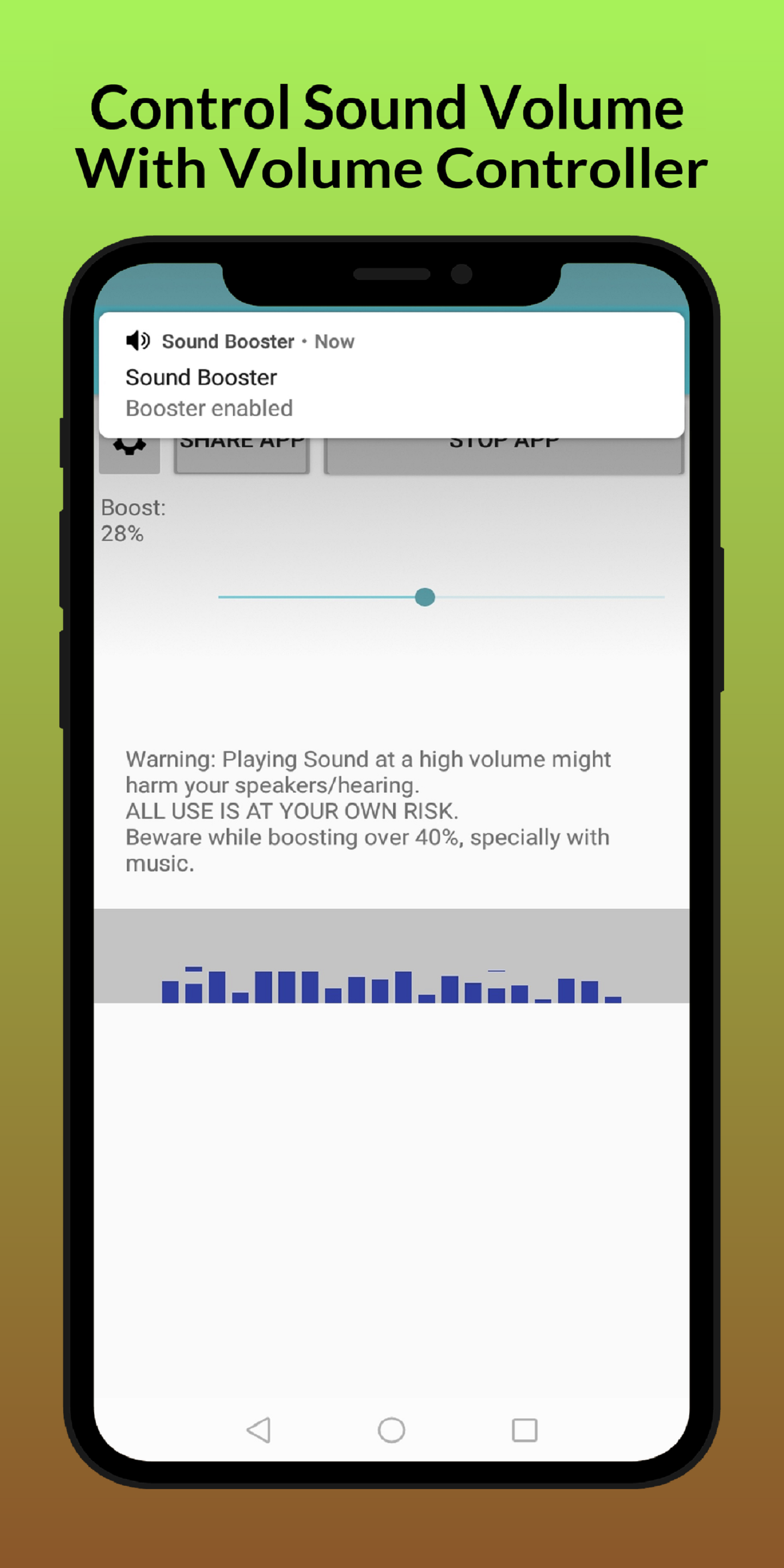 Volume Sound Booster for android