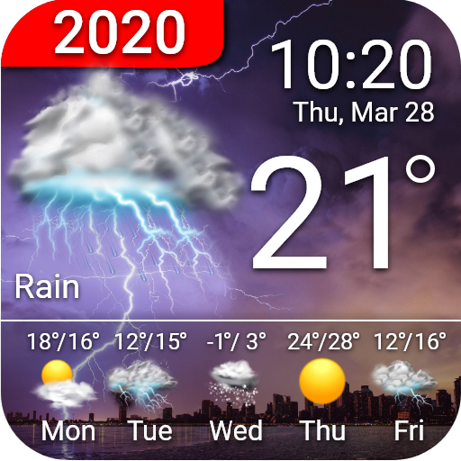 Advanced Weather Forecast: Live Weather & Widgets