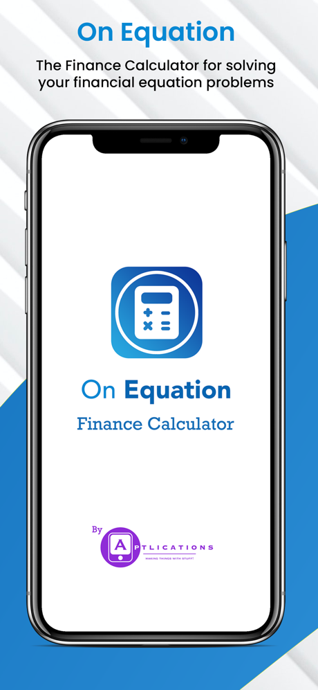 On Equation Finance Calculator