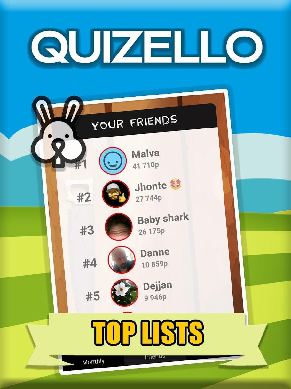 Quizello - quiz with a twist!