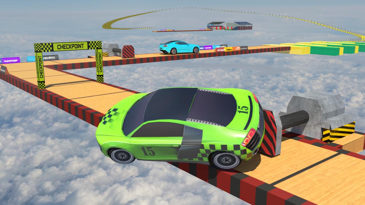 Ramp Car Stunts Free Mega Ramp Games