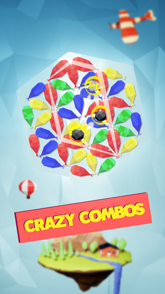 Ballooned