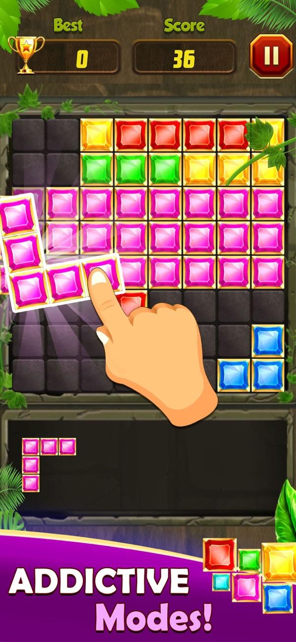 Block Puzzle - Play 4 Fun