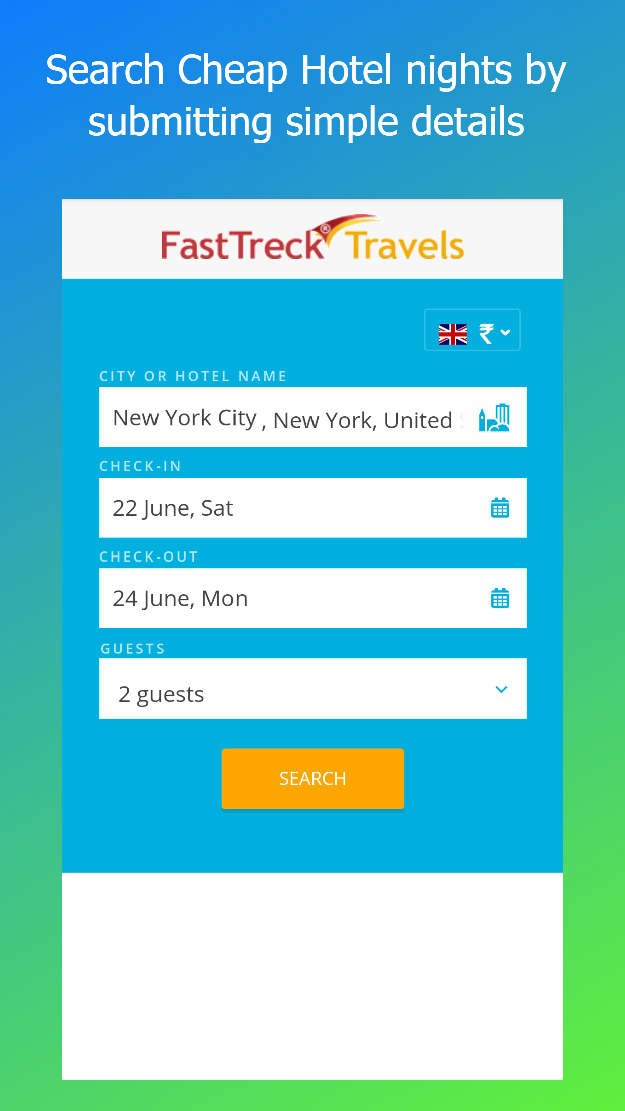 FastTreck Travels - Cheap Flight, Hotel & Holidays