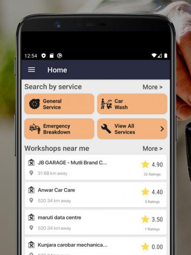 Gaadiman - Doorstep Car Service App