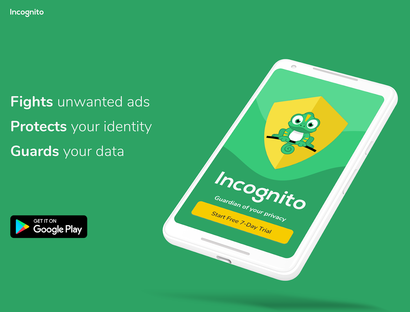 Incognito VPN - Fast VPN & Ad Blocker for Android