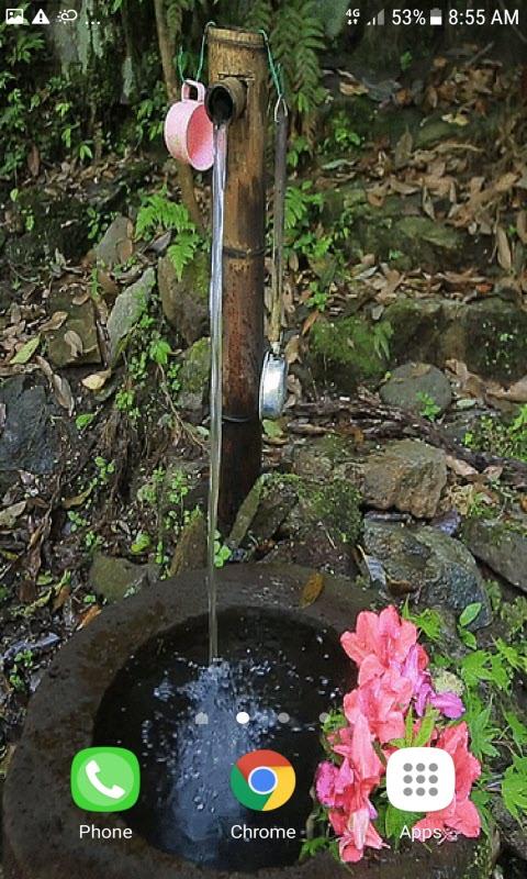 Nature Watertap Live Wallpaper