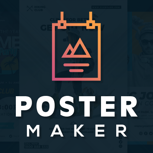 Poster Maker Flyer Design Template Graphic Creator