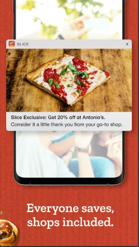 Slice: Order delicious pizza from local pizzerias!