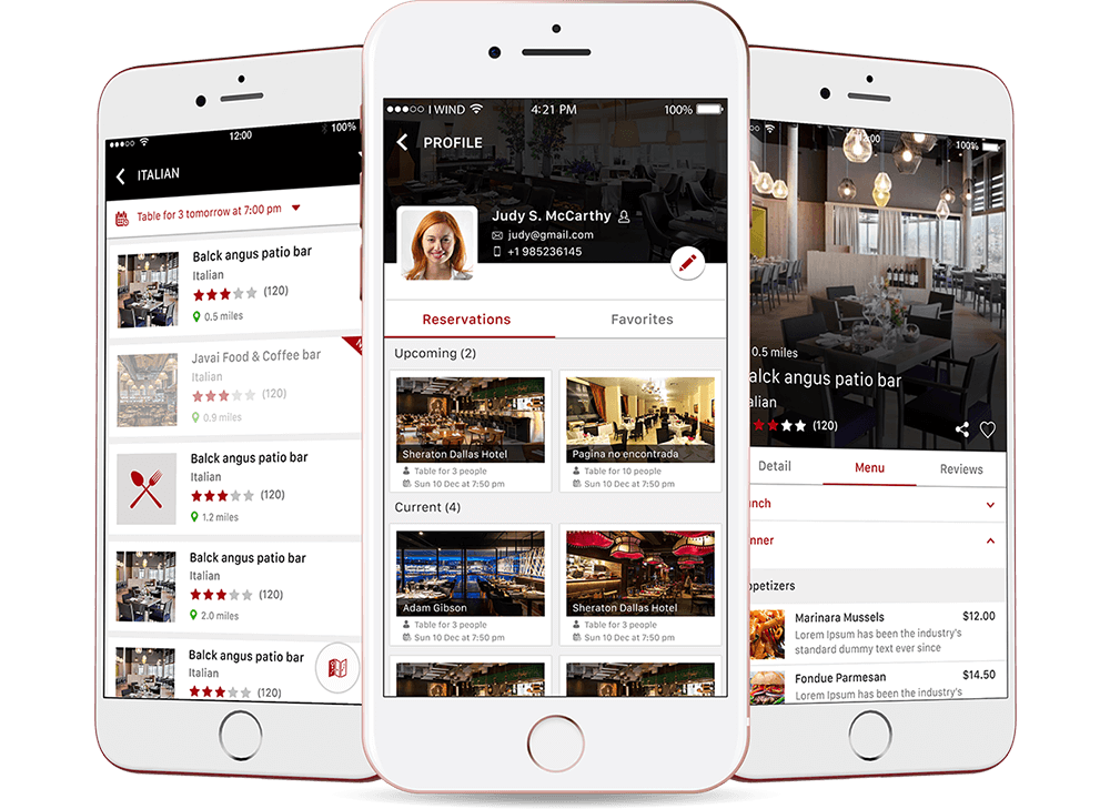 Trapeza - Online Restaurants Booking App