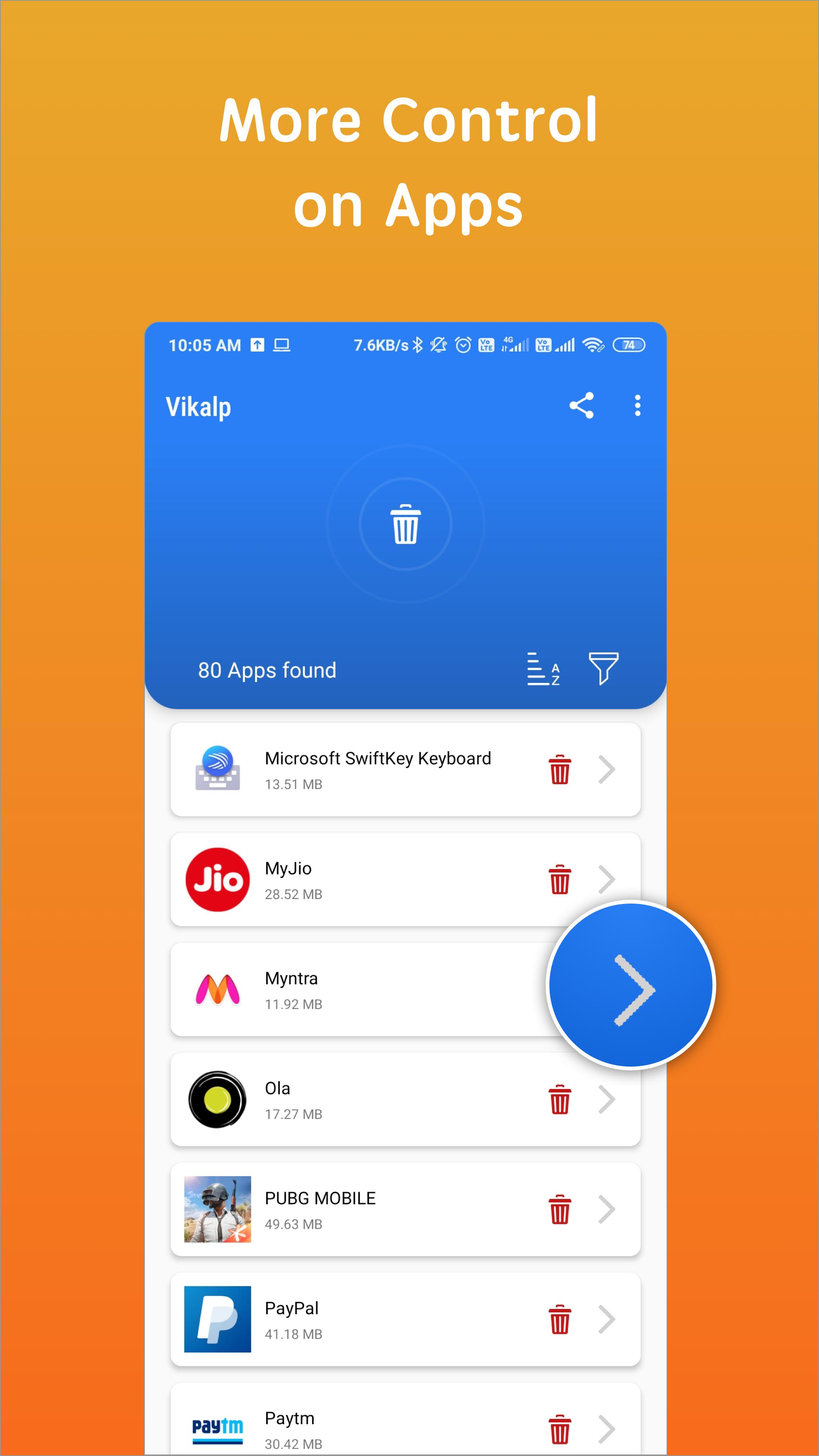Vikalp - Remove Apps & Uninstall