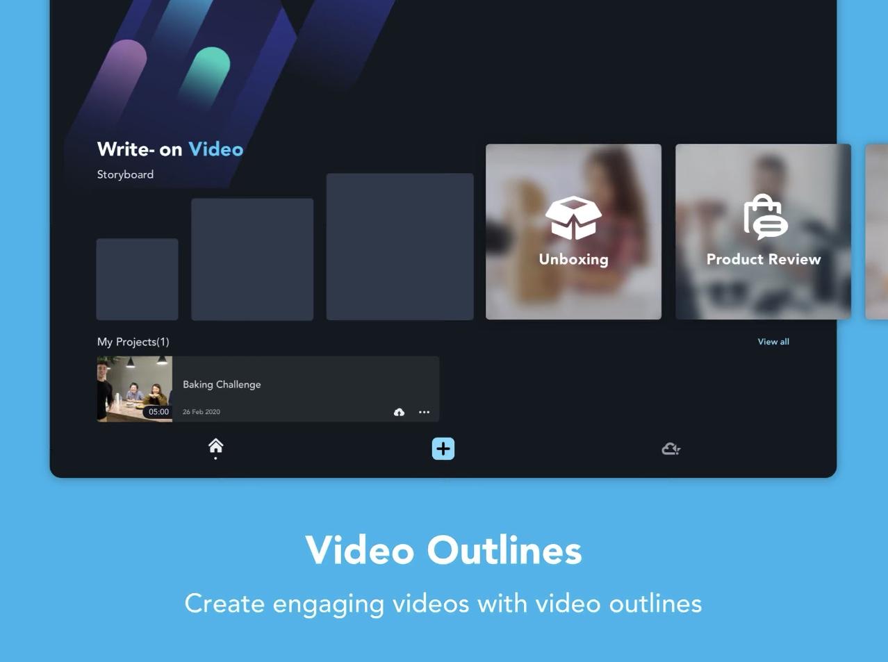 Write-on Video