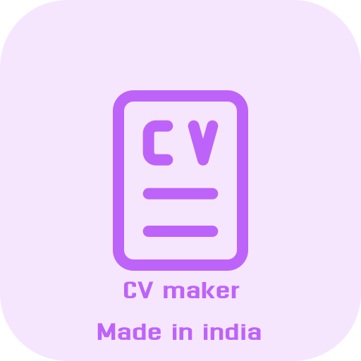 CV maker - Resume Builder (Made in India)