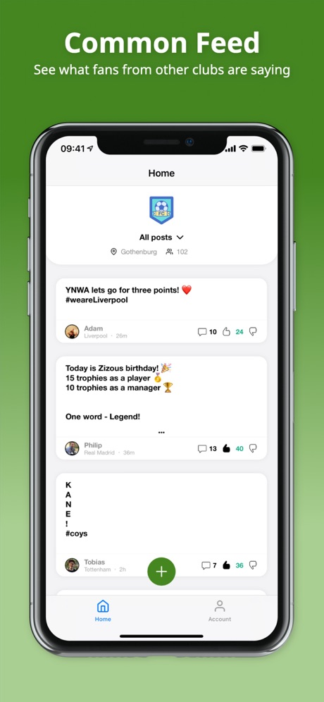 Fanzone Football: Social Fans