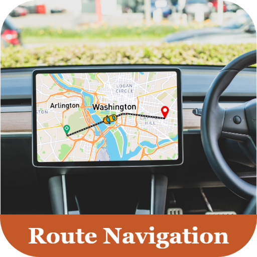 GPS Driving Directions & Voice Route Navigation