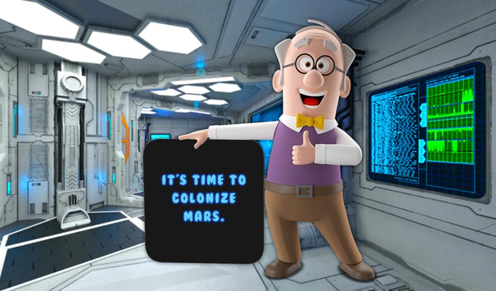 Merge Robots & Go To Mars! Merger Craze