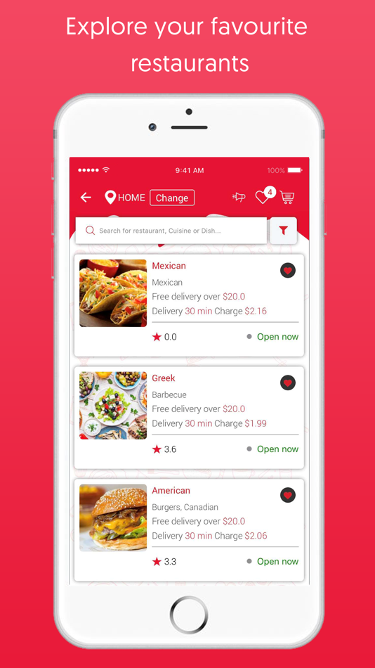 DishPal - Restaurant Finder App