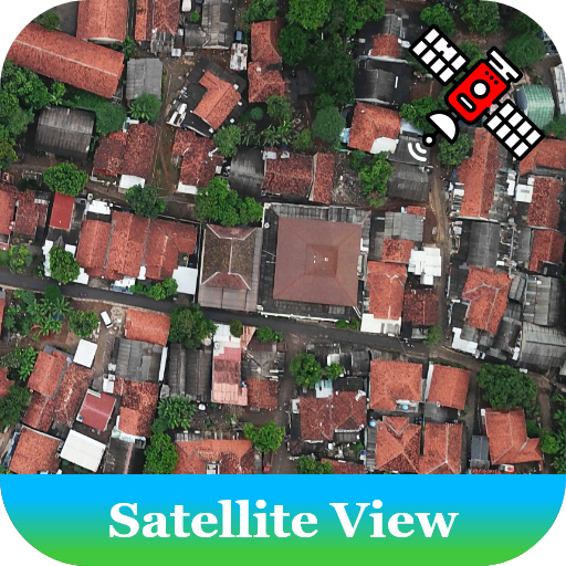 Earth Satellite, Street View and GPS Route Maps