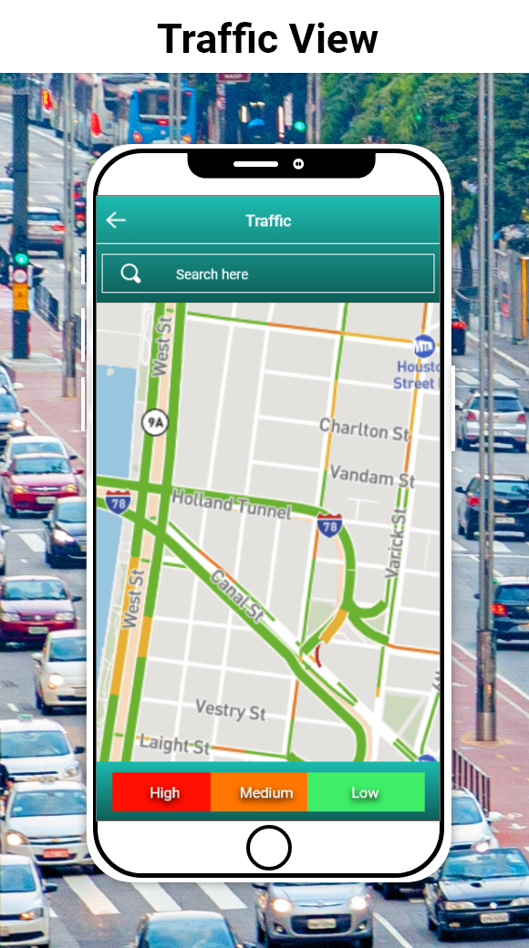 GPS Direction, Voice Navigation & Live Traffic Map