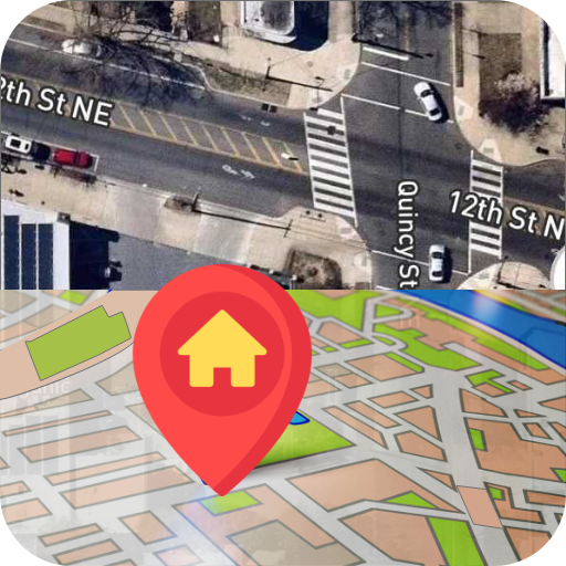 GPS Direction, Voice Navigation & Live Traffic Map